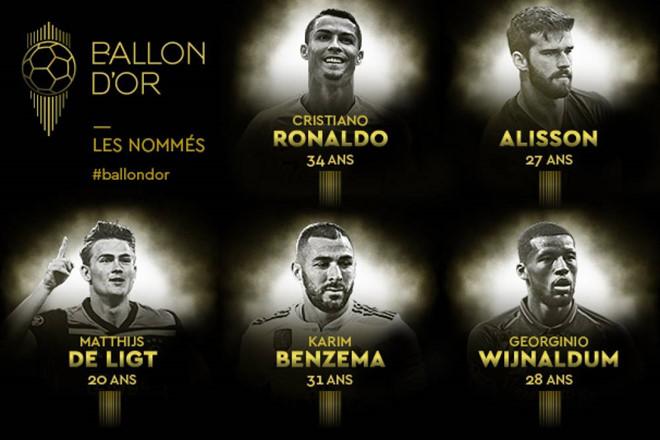 Ronaldo được đề cử Quả bóng Vàng năm thứ 16 liên tiếp-1