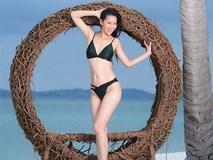 Dương Thuỳ Linh nóng bỏng với bikini, trao lại vương miện cho người kế nhiệm