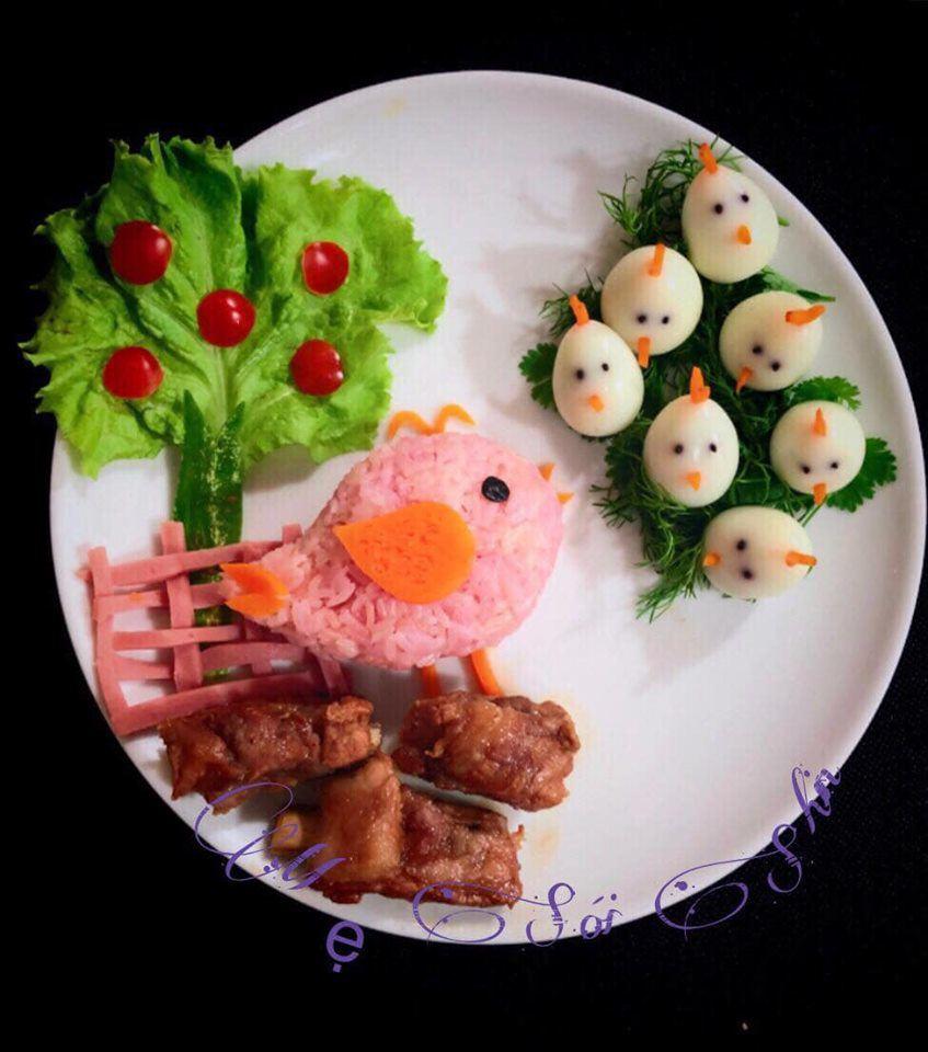 Ngất ngây với món ăn như vườn cổ tích của bà mẹ trẻ, con lười ăn cũng khó cưỡng-14