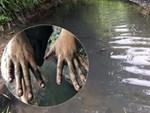 Cận cảnh nơi lưu giữ dầu thải bị tuồn ra đầu độc nước sông Đà của Công ty gốm sứ Thanh Hà-18