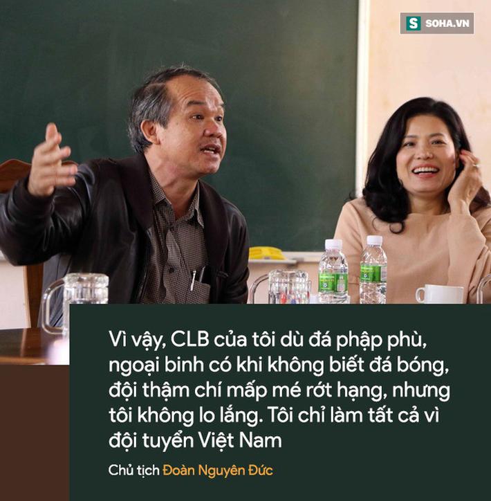 Bầu Đức: Tình riêng bỏ chợ bởi sự đa đoan hiếm có đem về thành công cho bóng đá Việt Nam-4