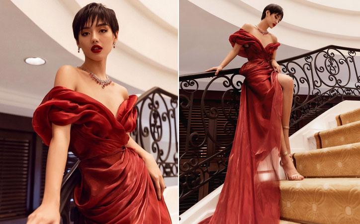 Kỳ Duyên diện váy khoe lưng trần, Hồ Ngọc Hà bị chê độn ngực quá đà-6