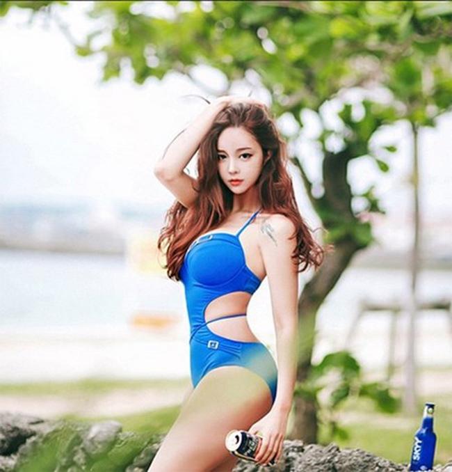 4 thánh nữ xăm mình Hàn Quốc mặt xinh, body đặc biệt quyến rũ-2