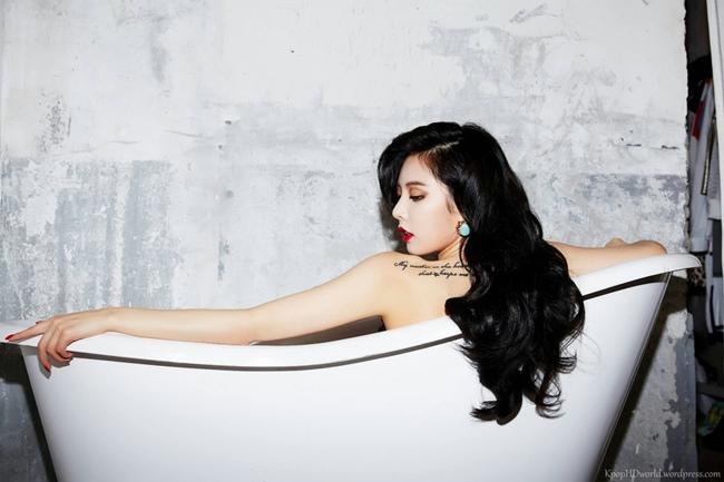 4 thánh nữ xăm mình Hàn Quốc mặt xinh, body đặc biệt quyến rũ-13