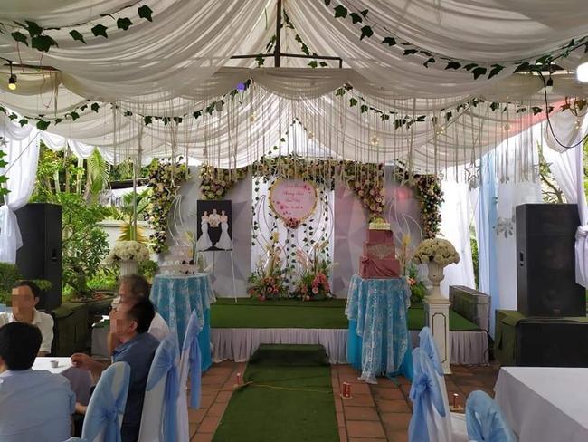 MXH xôn xao về đám cưới - ảnh 1