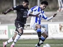 Văn Hậu kiến tạo thành bàn trong chiến thắng của Jong Heerenveen