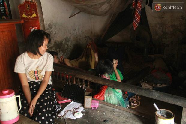"""Xót xa cụ bà 75 tuổi nuôi cả gia đình bị tâm thần và thiểu năng trí tuệ ở Vĩnh Phúc: Tôi khuất núi không biết các cháu sẽ ra sao""""-3"""