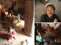 """Xót xa cụ bà 75 tuổi nuôi cả gia đình bị tâm thần và thiểu năng trí tuệ ở Vĩnh Phúc: """"Tôi khuất núi không biết các cháu sẽ ra sao"""""""