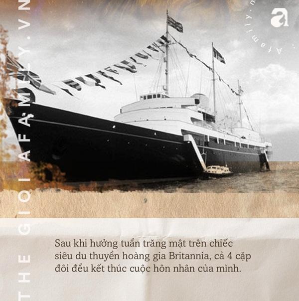 Lời nguyền trăng mật trên chiếc du thuyền sang trọng bậc nhất hoàng gia: 4 cặp đôi đều tan nát gia đình, trong đó có 3 người con của Nữ hoàng Anh-3