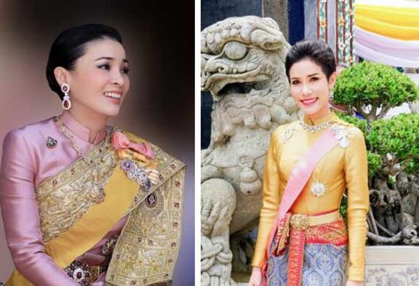 Hoàng hậu và Hoàng quý phi Thái Lan: Xuất phát điểm tương đồng, cùng mục tiêu nhưng người về đỉnh cao, người về vực sâu trong cuộc cung đấu-1