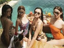 Nhóm bạn thân hot girl cùng nhau diện bikini khoe dáng nóng bỏng