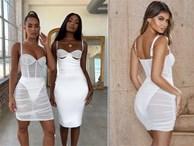 Chiếc váy xuyên thấu nhìn thấy đồ lót đang cháy hàng trên thế giới