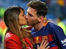 Xúc động với một thập kỉ yêu đương gắn bó của vợ chồng Messi