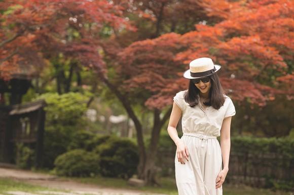 Hoa hậu Dương Mỹ Linh khoe nụ cười như toả nắng giữa trời thu Nhật Bản mộng mơ-7