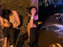 """""""Mây mưa"""" trong ô tô, cặp đôi hốt hoảng khi bị cảnh sát bắt gặp nên vội rời đi, không ngờ gây tai nạn thiệt hại cả người lẫn mình"""