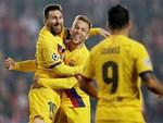 Messi tạo khoảnh khắc thiên tài, Barca đại thắng ở vòng 11 La Liga-11