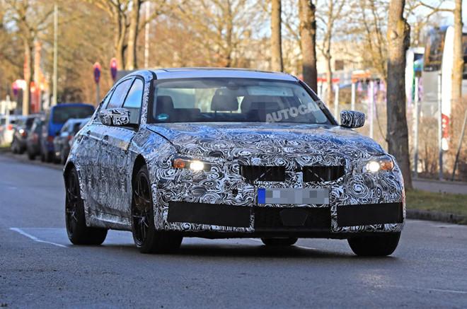 Lộ ảnh thiết kế đuôi xe của BMW M3 thế hệ mới-2