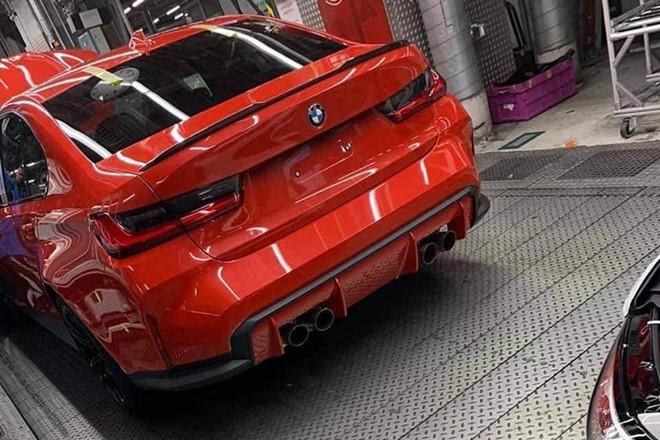 Lộ ảnh thiết kế đuôi xe của BMW M3 thế hệ mới-1