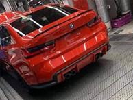 Lộ ảnh thiết kế đuôi xe của BMW M3 thế hệ mới