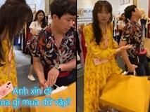 Trấn Thành shopping bất chấp dù bị Hari Won 'mắng' xối xả ở Thái Lan