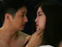 Sự thật cảnh nóng của Thái, Trà trong 'Hoa hồng trên ngực trái'