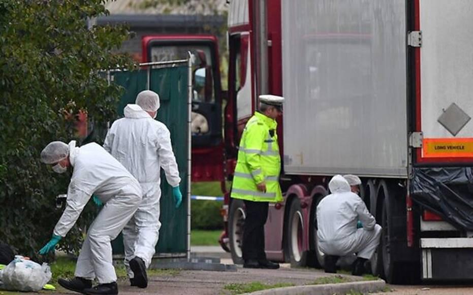 Vụ 39 thi thể trong container gây chấn động Anh: Nạn nhân đã chết ít nhất 12 tiếng, tài xế suýt ngất khi phát hiện thảm kịch-1