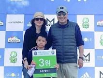 """Lộ hình ảnh hiếm hoi của chồng đại gia 70 tuổi và con trai của nàng """"Dae Jang Geum"""