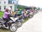 """Xếp hàng đón con"""" lan tỏa đến hơn 140 trường học ở Hà Tĩnh-7"""