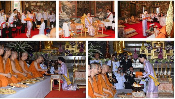 Sau khi Hoàng quý phi bị phế truất, Hoàng hậu Thái Lan trở thành tâm điểm chú ý với nhan sắc ngày càng rực rỡ và thần thái hút hồn-3