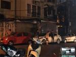 Đỗ xe lỗi tông hàng loạt phương tiện khác-1