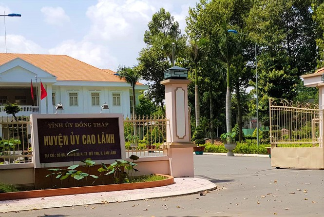 Tin mới vụ nguyên Chánh văn phòng huyện ủy bị tố vụng trộm với vợ bảo vệ-1