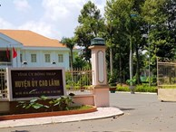 Tin mới vụ nguyên Chánh văn phòng huyện ủy bị tố 'vụng trộm' với vợ bảo vệ