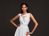 Mãn nhãn với bộ ảnh đầy thần thái của á hậu Hoàng Thuỳ trên trang chủ Miss Universe 2019