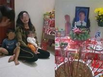 Người vợ ôm con 3 tháng tuổi ngã quỵ trước bàn thờ vọng của chồng, nghi là nạn nhân chết trong xe container ở Anh