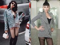 Những lỗi kết hợp trang phục với quần tất mỏng của người đẹp Việt