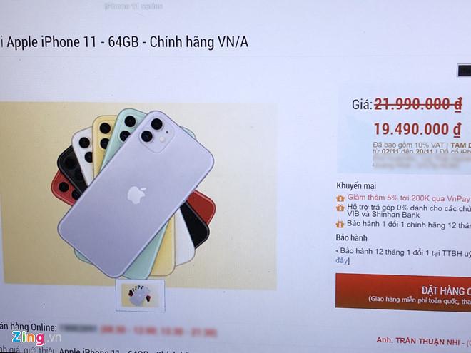 Người Việt mua được iPhone 11 chính hãng rẻ hơn vài triệu-2