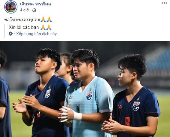 Cầu thủ U19 Thái Lan òa khóc sau trận thua Việt Nam-1
