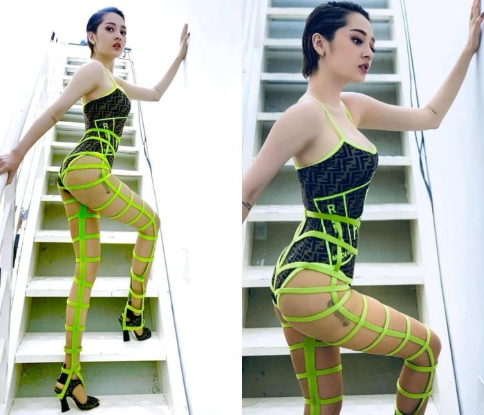 Phương Khánh mặc váy nhàu nhĩ, Hari Won chọn nội y kém duyên-10