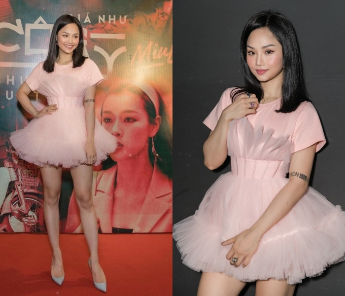 Phương Khánh mặc váy nhàu nhĩ, Hari Won chọn nội y kém duyên-8