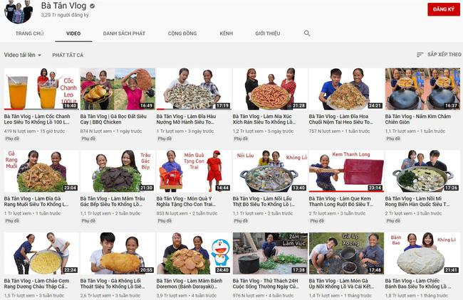 Liên tiếp vướng ồn ào, bị chỉ trích, kênh Youtube của Bà Tân vẫn tăng sub chóng mặt, bỏ xa hàng loạt nghệ sĩ nổi tiếng - ảnh 7