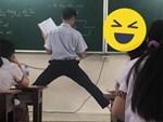 Bình thường lười biếng nhưng nay lại ngồi ngoan ngoãn làm bài tập, người bố đến xoa đầu con trai ai ngờ nhận lấy cú lừa đầy ngoạn mục-4