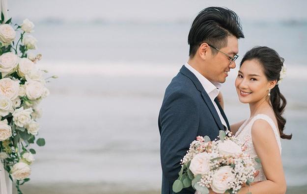 Vợ cố người mẫu Duy Nhân bật khóc vì bị chỉ trích 'cưới chạy bầu'-1