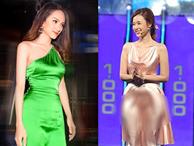 Hoa hậu Hương Giang và dàn mỹ nhân Việt bất ngờ hớ hênh điểm nhạy cảm vì váy lụa