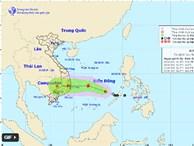 Ngày mai áp thấp nhiệt đới có thể mạnh lên thành bão, miền Trung mưa rất lớn