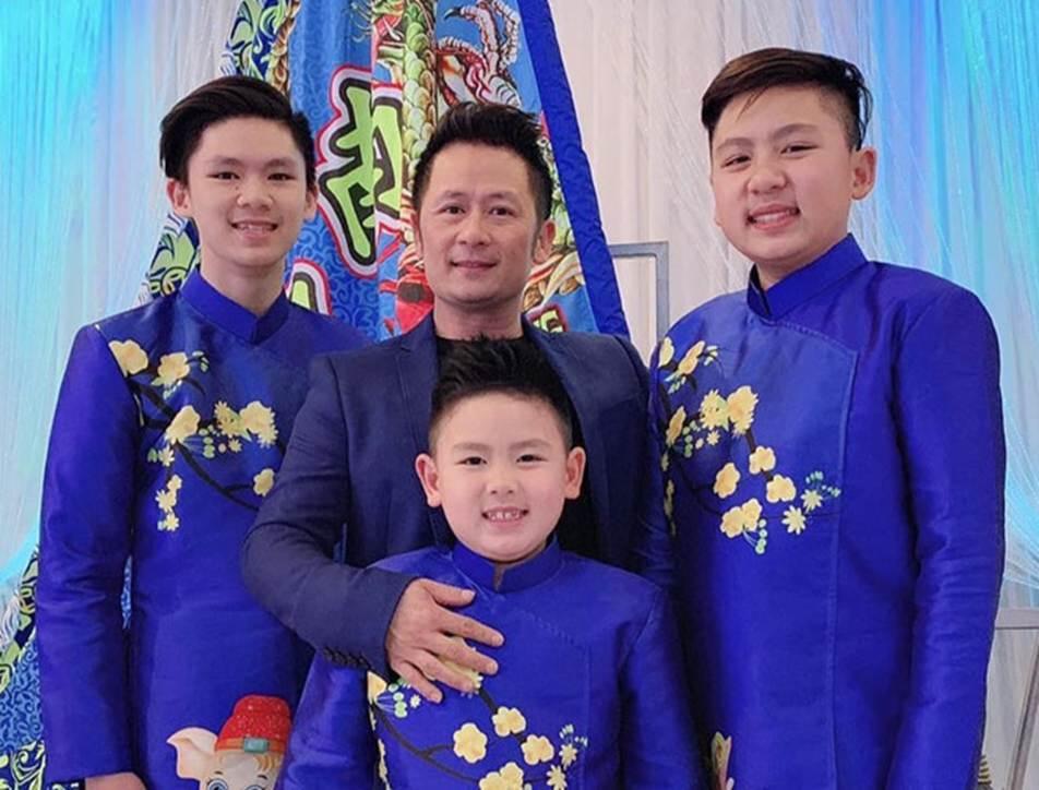 Ba con trai của Bằng Kiều và vợ cũ Trizzie Phương Trinh-2