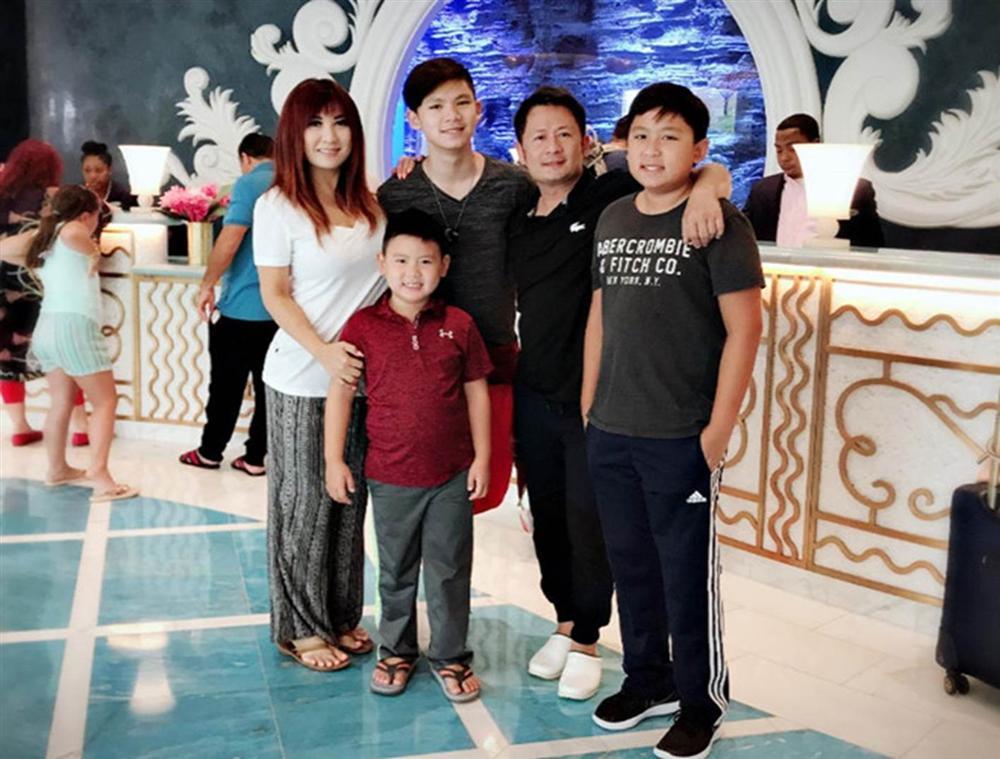 Ba con trai của Bằng Kiều và vợ cũ Trizzie Phương Trinh-11