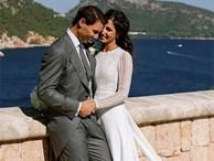Bận thi đấu, Rafael Nadal chỉ có một ngày trăng mật với cô dâu mới