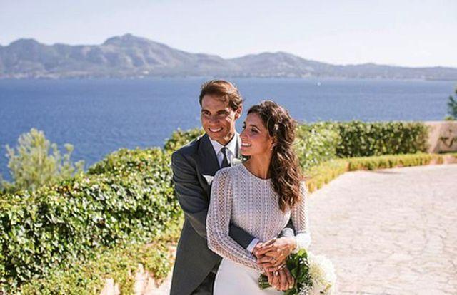 Bận thi đấu, Rafael Nadal chỉ có một ngày trăng mật với cô dâu mới-1