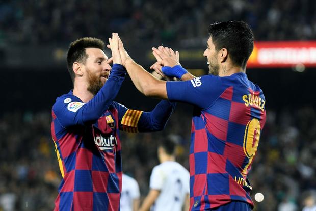 Messi tạo khoảnh khắc thiên tài, Barca đại thắng ở vòng 11 La Liga-9