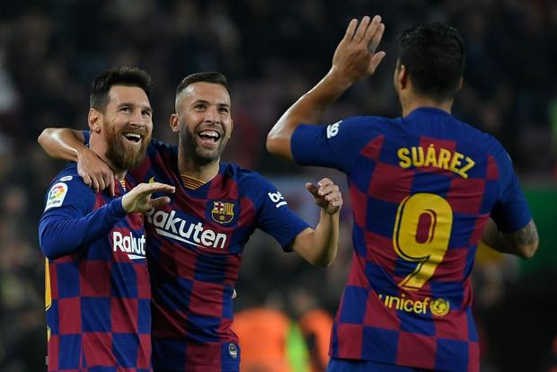 Messi tạo khoảnh khắc thiên tài, Barca đại thắng ở vòng 11 La Liga-7